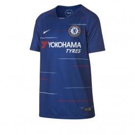 306f1f035da0 2018 19 Chelsea Football Club Home Junior Football Shirt · Nike ...