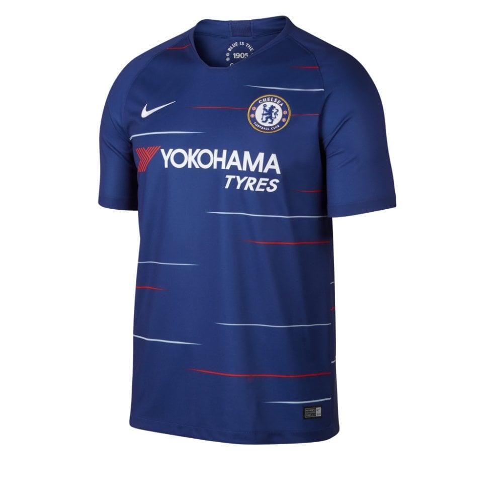 big sale dbadc 78777 2018/19 Chelsea Football Club Men's Stadium Home Jersey