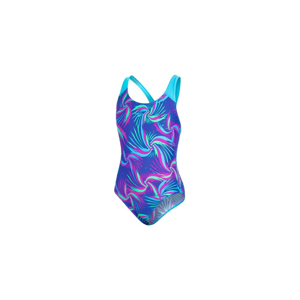 Allover Splashback Swimsuit Colourmelt Ultrasonic