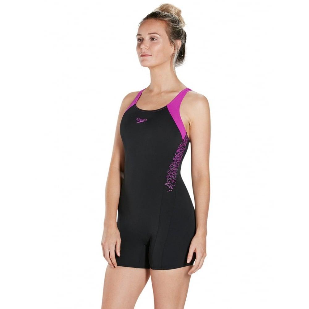skilful manufacture fashionablestyle authentic quality Boom Splice Legsuit Black/ Purple