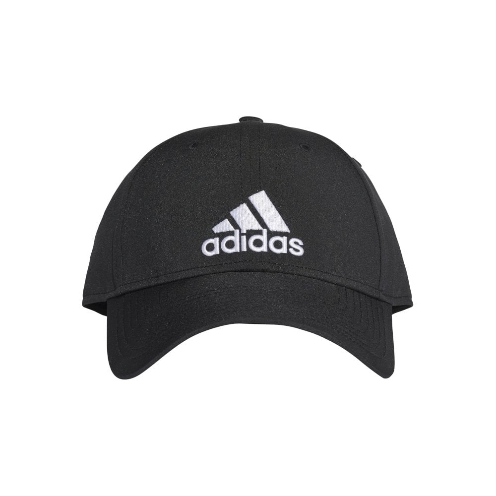 7e905740af8 Classic Six-Panel Lightweight Cap - Black Black White - Training ...