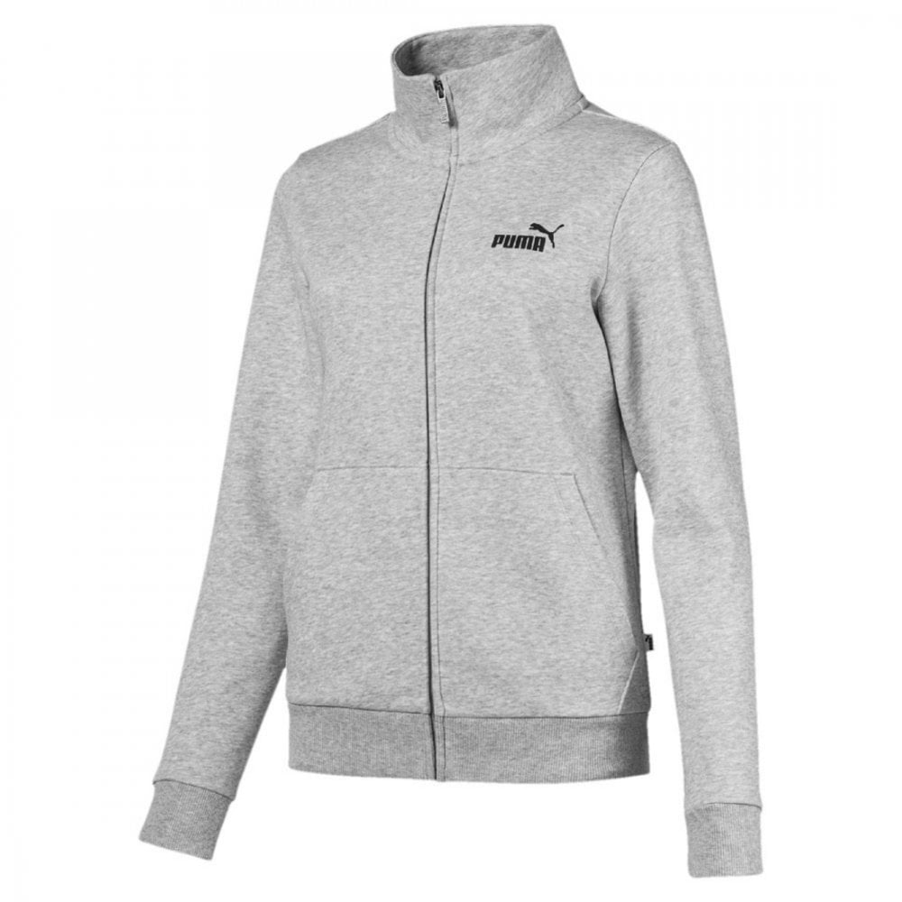 c3ee5c871f49 Essential Track Jacket - Gray Heather Light Gray - Training from ...