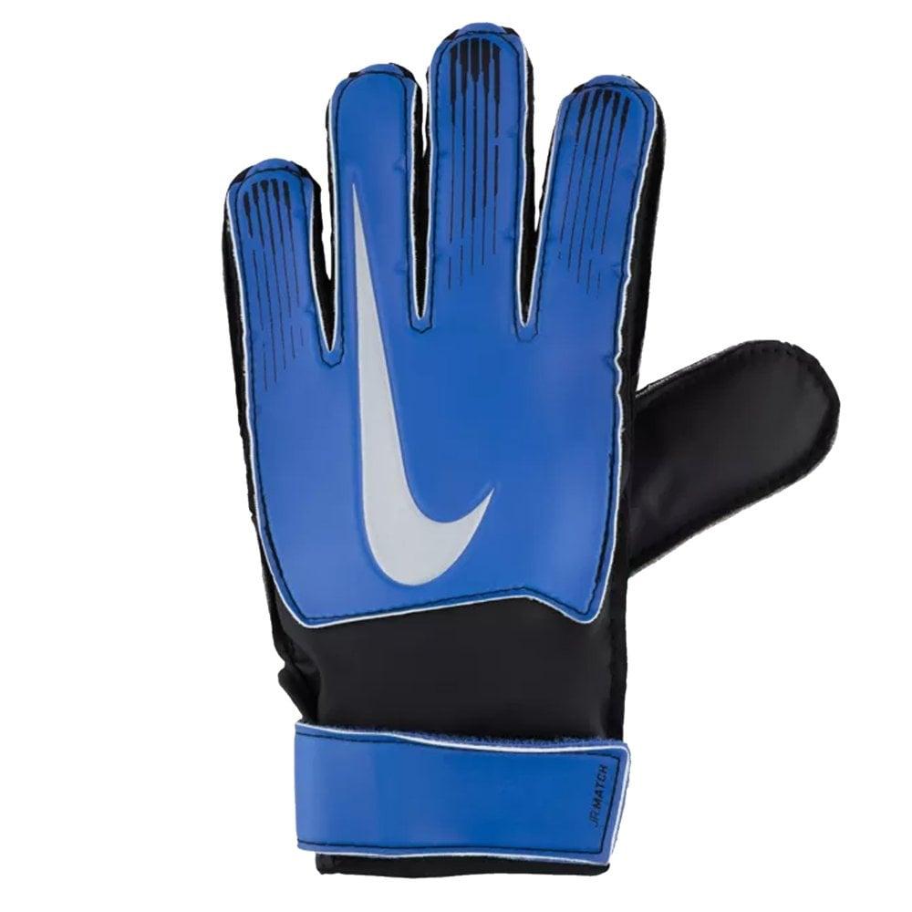 107d2981f66 FA18 Junior Match Goalkeeper Gloves - Racer Blue Black Metallic Silver