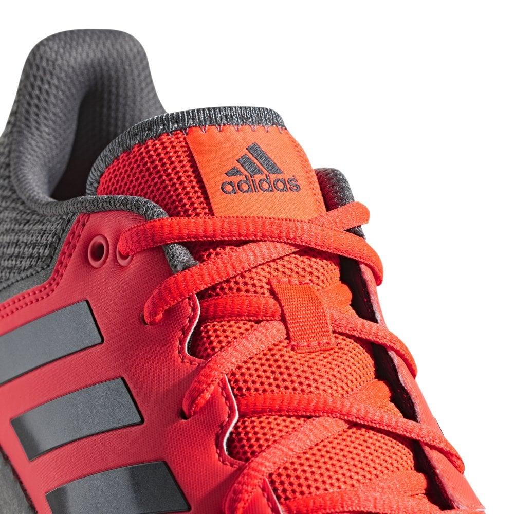 FlexCloud Men's Hockey Shoe - Red/Black