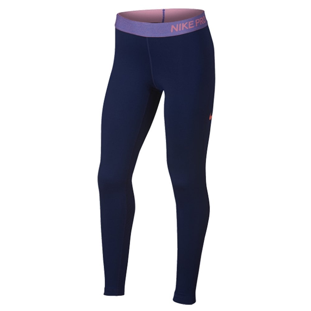 reputable site d5ca0 3fb85 Girl039s Nike Pro Warm Tights