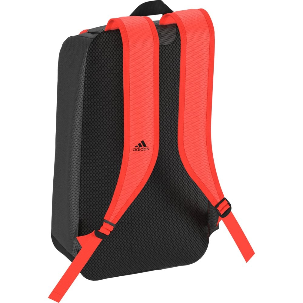 b59d25a0e399f7 Hockey Backpack - Core Black Solar Red - Hockey from John Moore ...