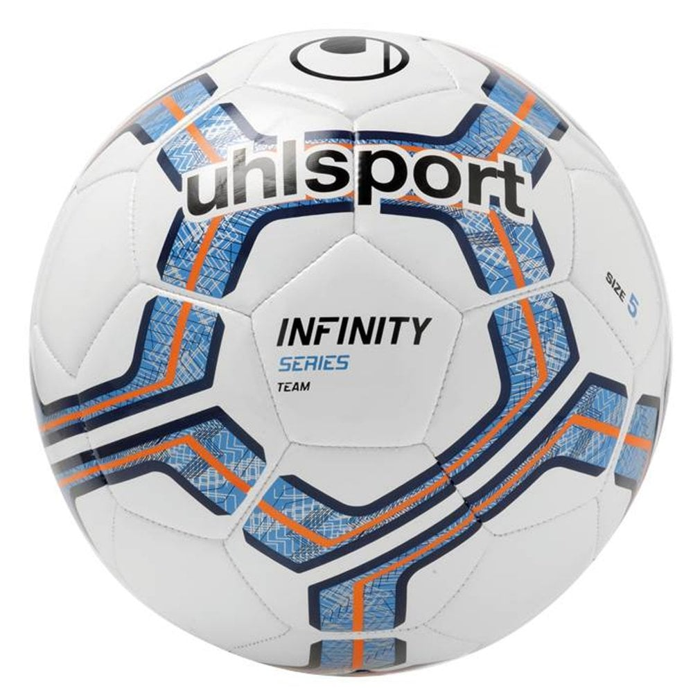 84e6747346f Infinity Team Ball - 5 - White/Navy/Cyan