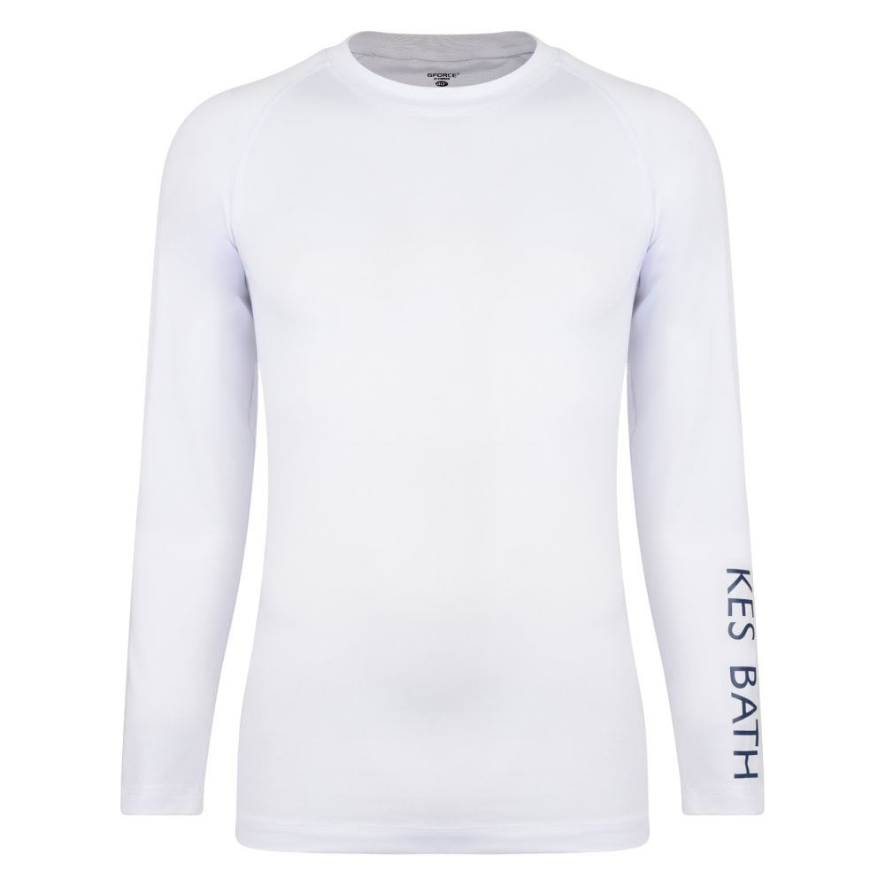 quot KES Baselayer Top White 1ff7247d52d0c