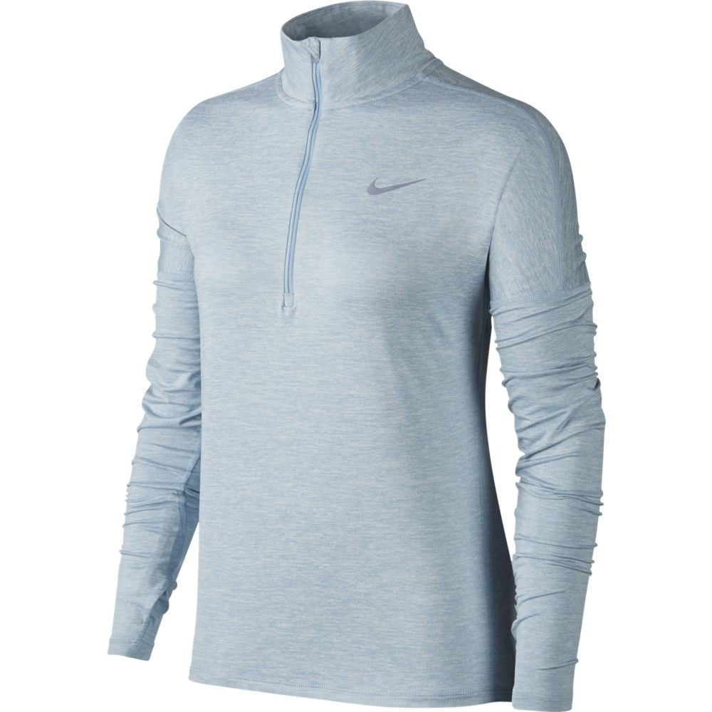f0bbb83875ff NIKE DRI-FIT Element Women s Long-Sleeve Running Half-Zip Top ...