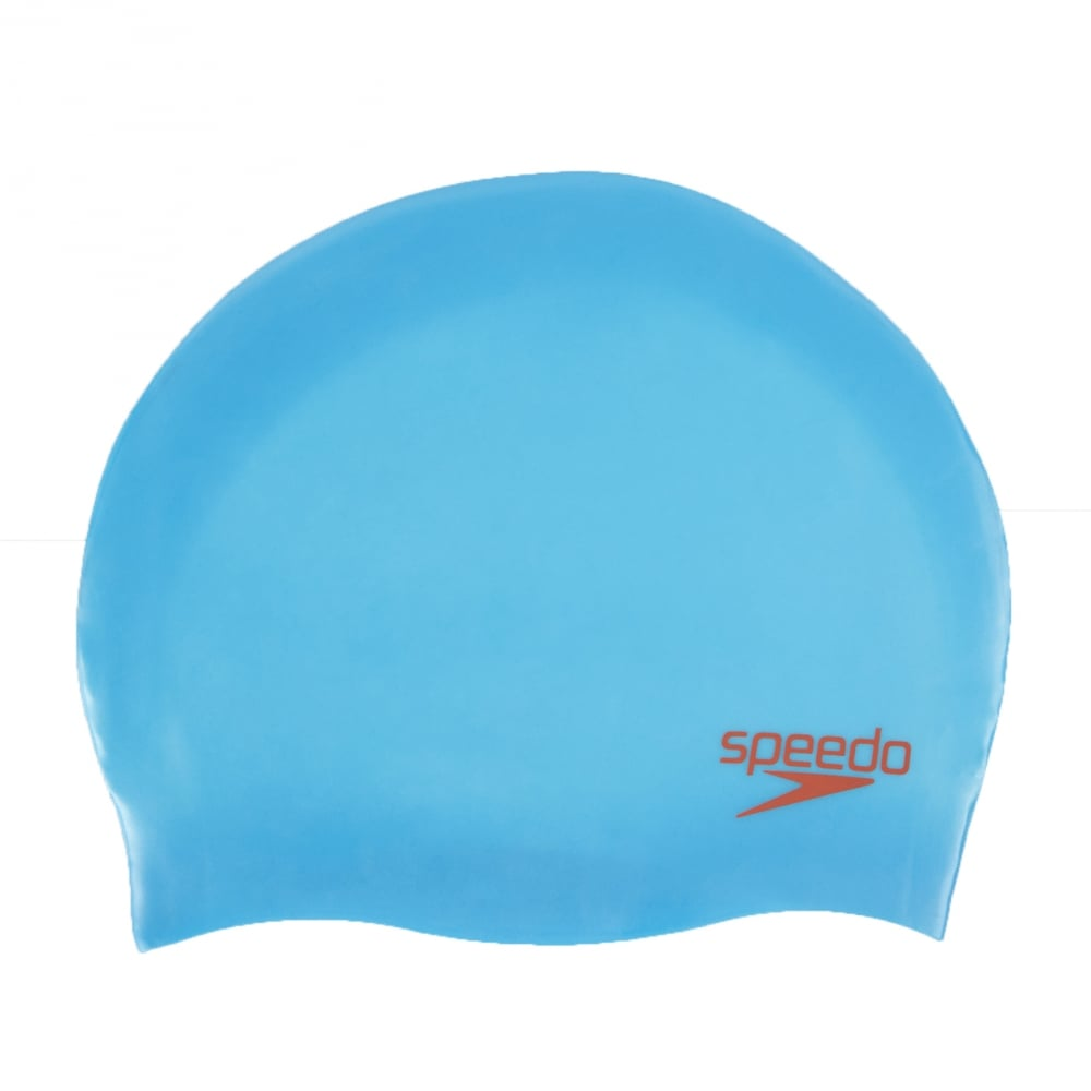 e08cacb00bf Plain Moulded Silicone Cap Blue Red - Junior