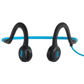 Sportz Titanium Microphone Headphones - Blue/ Black