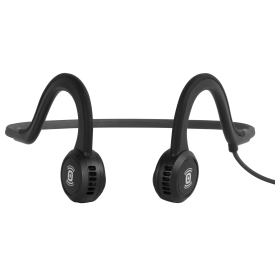 Sportz Titanium Microphone Headphones - Grey/ Black