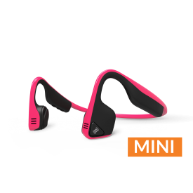 Trekz Titanium Mini Headphones - Pink/ Black