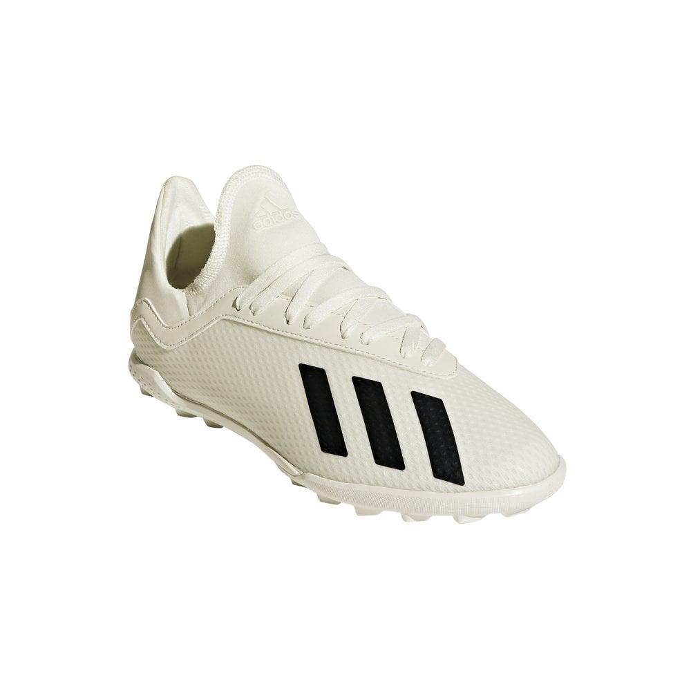 buy popular 4b046 ff8ab X Tango 18.3 Junior Turf Boots - Off white/Core black/Gold met.